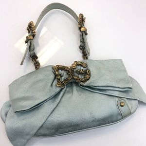Dolce &  Gabbana antique satin bow clutch